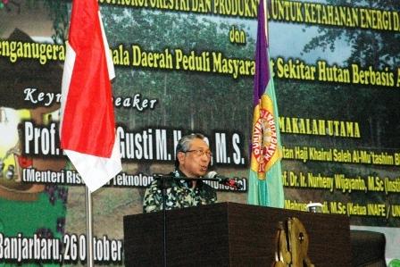 Meneg Ristek : Indonesia Negara Yang 'Seksi' dan Laris Manis
