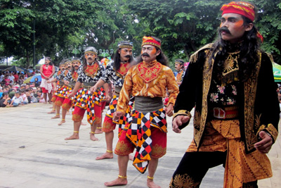 HUT Temanggung , Ribuan Orang Padati Festival Budaya