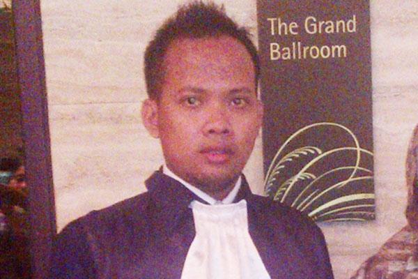 Abdul Ghofur, SH Pengacara Muda Jepara,  Siap Beri Bantuan Hukum Gratis Untuk Warga Miskin