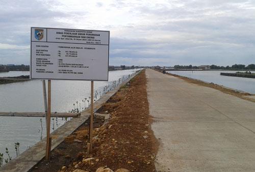 Betonisasi Jalan 280 m Kedungmutih – Babalan Demak Rampung