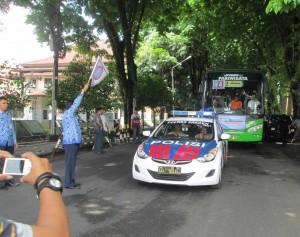 Praja Sragen Ke Jakarta Dilepas Wabup Daryanto