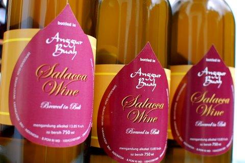 "Ada Wine di ""Desa Salak"" Karangasem"