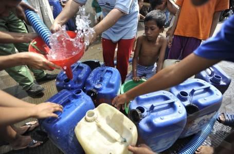 Pemberitahuan Mendadak, Bantuan Air Ditolak Perangkat Desa
