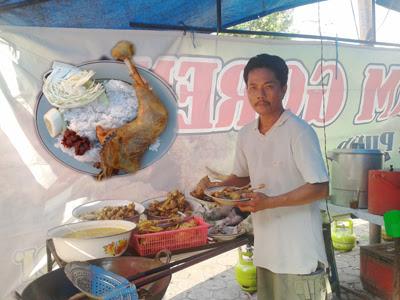 Nikmatnya Ayam Goreng H Por Pasar Kliwon Kudus