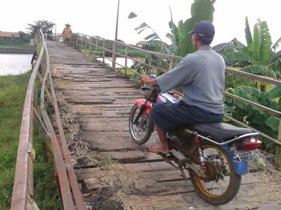 Jembatan Gerdu – Godhang Jepara Makin Merana