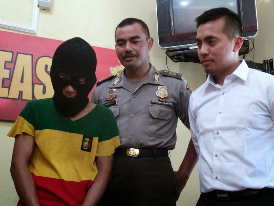 Pembunuh Fita Tertangkap Di Tangerang