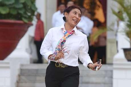 Menteri, Susi: Saya Mungkin Tidak Berpendidikan, Tapi Saya Profesional