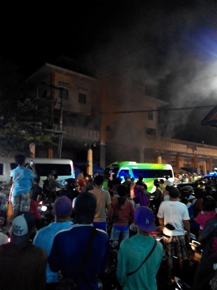 Aduh !!!!! Pasar Bintoro di Demak Terbakar