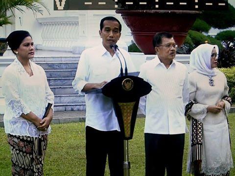 Inilah  34 Menteri Kabinet Kerja Jokowi-JK