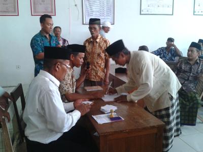 Pilihan Anggota BPD Kedungmutih Demak Seru