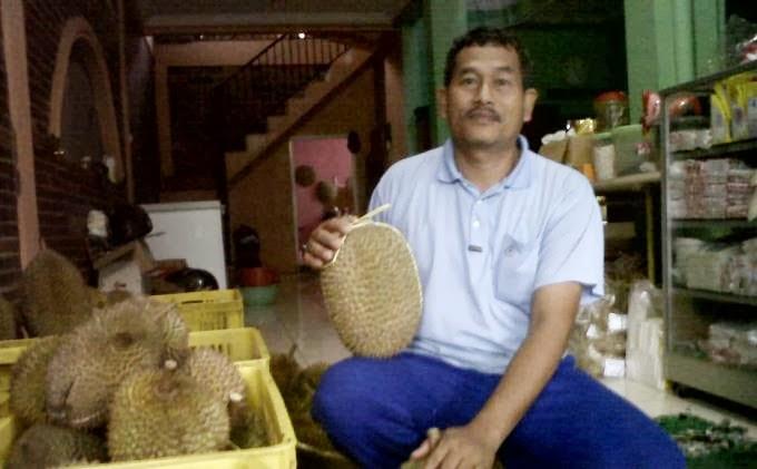Sulit Berbuah , Harga Durian Jepara Melambung Tinggi