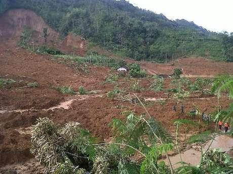 Allahu Akbar , Rumah Kyai Selamat Dari Tanah Longsor di Banjarnegara