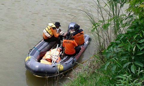 Patah Hati Pemuda Dorang Ceburkan Diri Ke Sungai