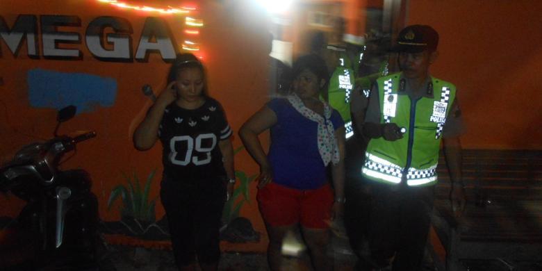 Polisi Demak Razia Tempat Karaoke Puluhan PK Di Amankan