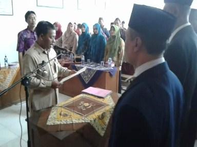 Enam  Penjabat Kades di kecamatan Wedung Dilantik