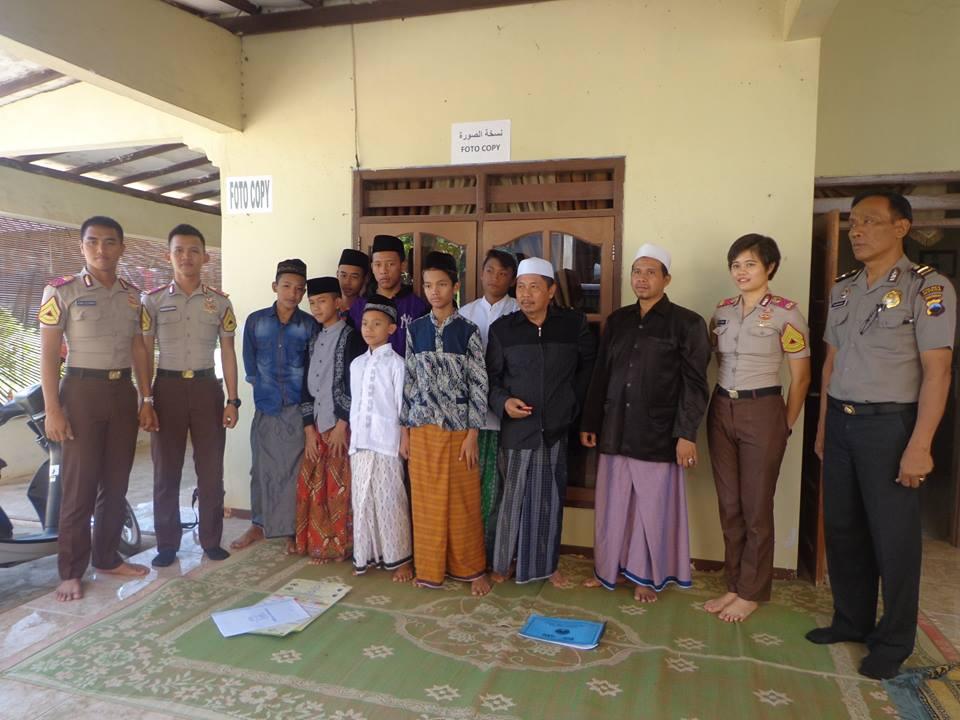 Ada Taruna Akpol di Pesantren Ramadhan SMP MIS  Bandengan Jepara