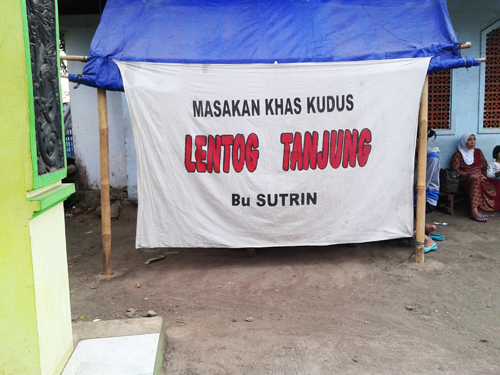 Menikmati Lenthog Tanjung Ibu Sutrin Di Terminal Pecangaan