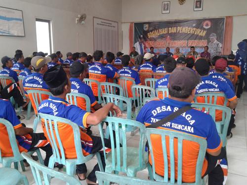 Sosialisasi Desa Siaga Tangguh Bencana di 3 Desa Di kecamatan Wedung