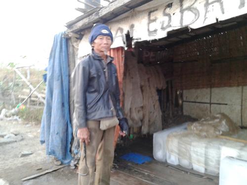 Pak Sahid Kedungmalang , Tiga Puluh Tahun Lebih Berdagang Es Batu