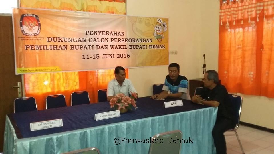 Sugiyanto,S Kom Calon Perseorangan Ramaikan Pilbup Demak