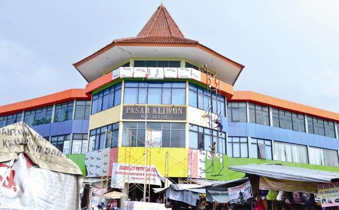 Pasar Kliwon Juga Layani Perdagangan Antar Pulau