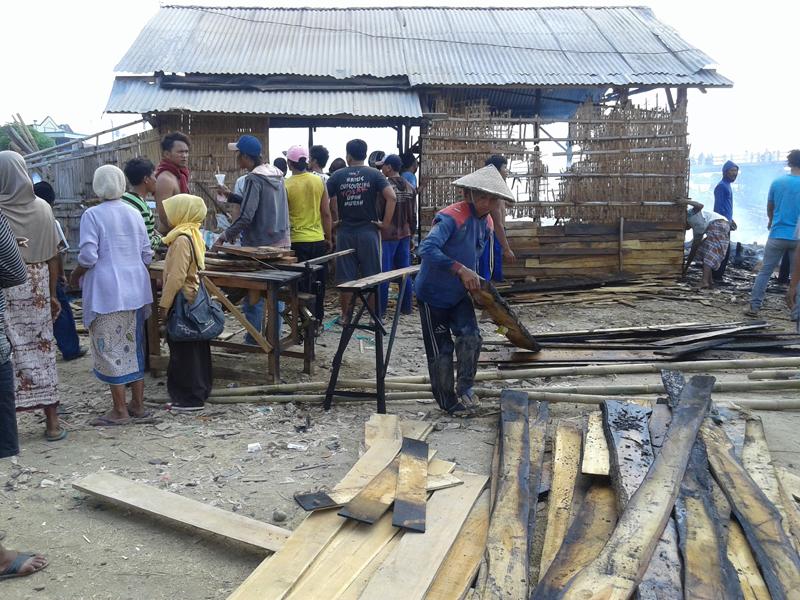 Nur Khasan Korban Kebakaran di Desa Kedungmutih, Kerugian Ditaksir 30 Juta Rupiah