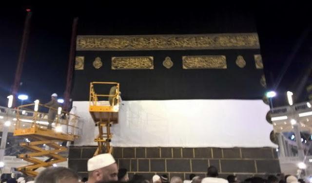 Alat Berat Di Masjidil Haram Tumbang , Puluhan Jamaah haji Meninggal dan Luka-Luka
