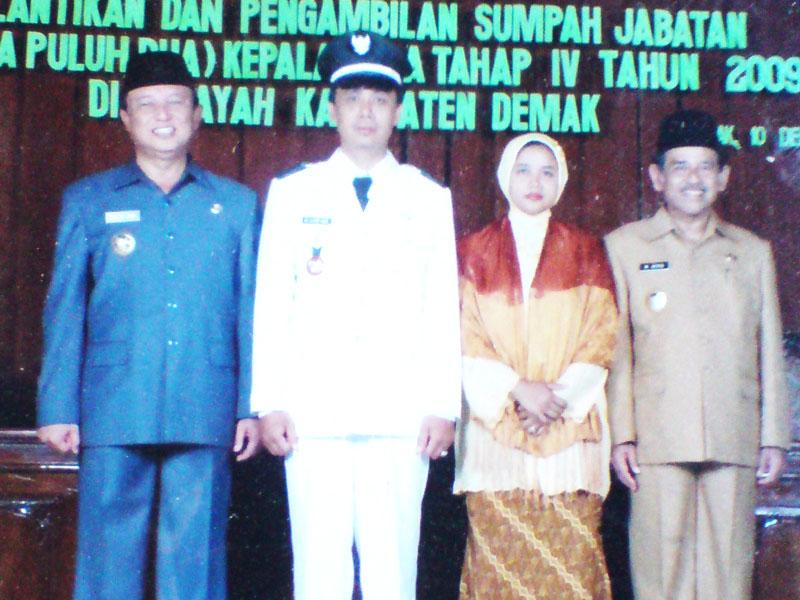 Kades Mutih Wetan M. Lutfie Noor, Jika Warga Menghendaki Ya Gimana lagi