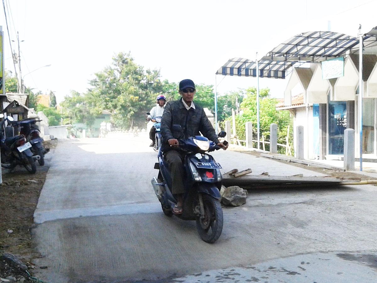 Hore !!! Jembatan Kali Putri Buko Wedung ,Sudah Jadi