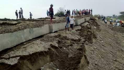 Tanggul Sungai Wulan Di Ngelo Kulon Ambles , Adakah Kaitannya Dengan Mistis ?
