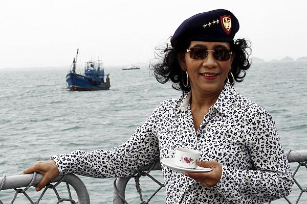 Susi Tak Ingin Garam Impor Banjiri Indonesia