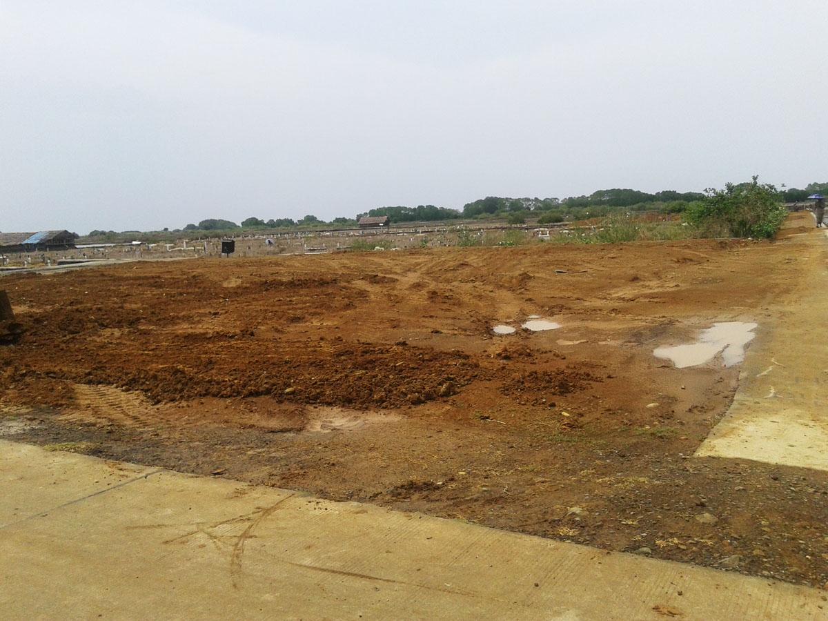 Pemakaman Desa Kedungmutih Bertambah Luas Setelah di Urug