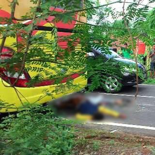 Lagi Kecelakaan di Jalan Raya Jepara 1 Meninggal Dunia dan 1 Lagi Kritis