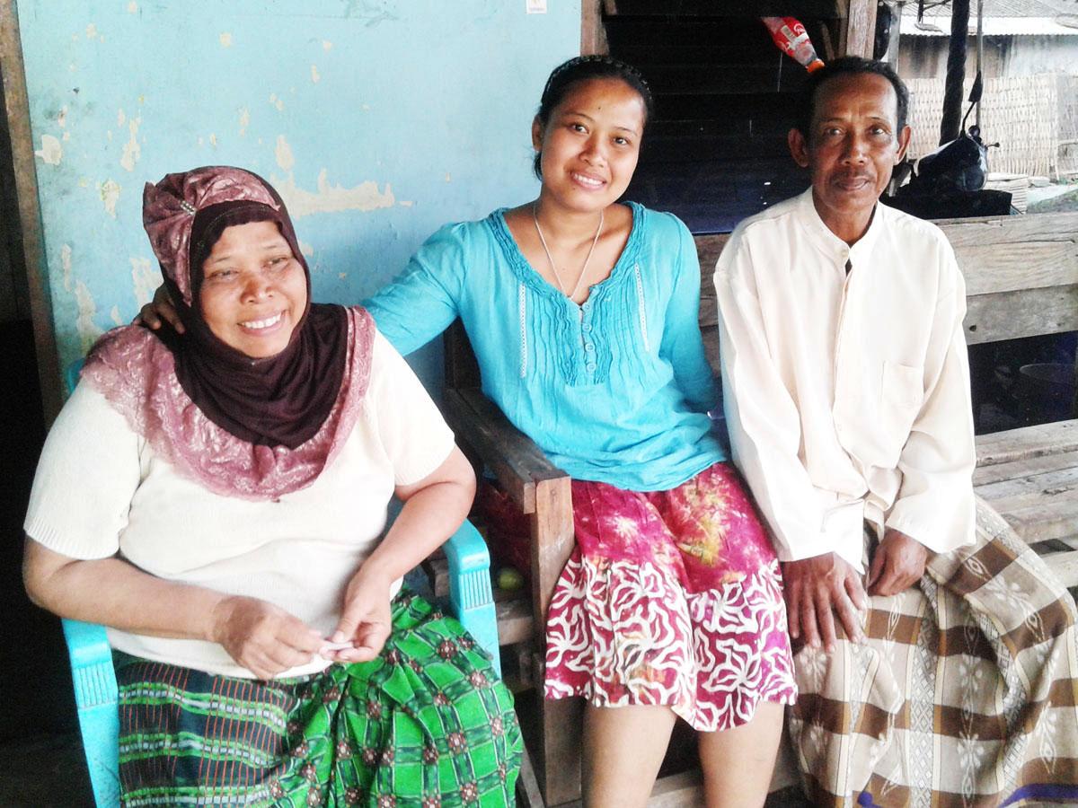Horee !!! Wahatik Telah Kembali Ke Kampung Halamannya Dengan Selamat