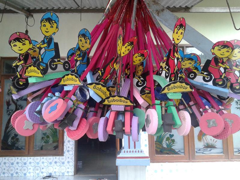 Mainan Anak-Anak Murah  Dari Desa Karanganyar Jepara  , Dipasarkan Ke seluruh Indonesia