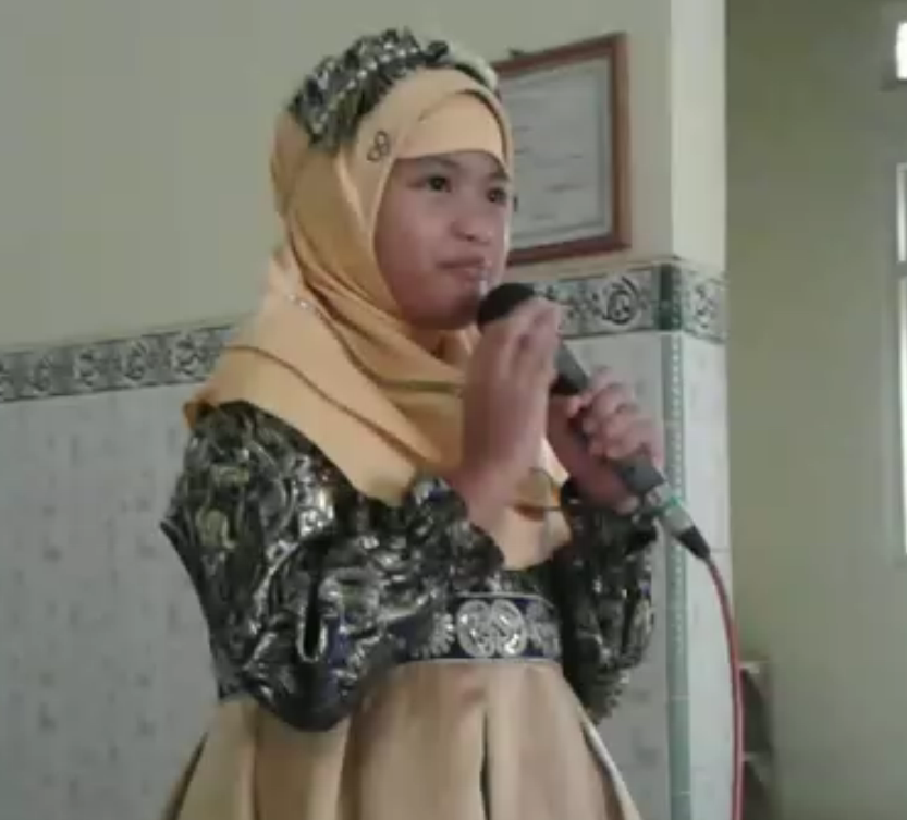 Jelita Hafidz Cilik Dari Jepara , Berdakwahpun Luar Biasa