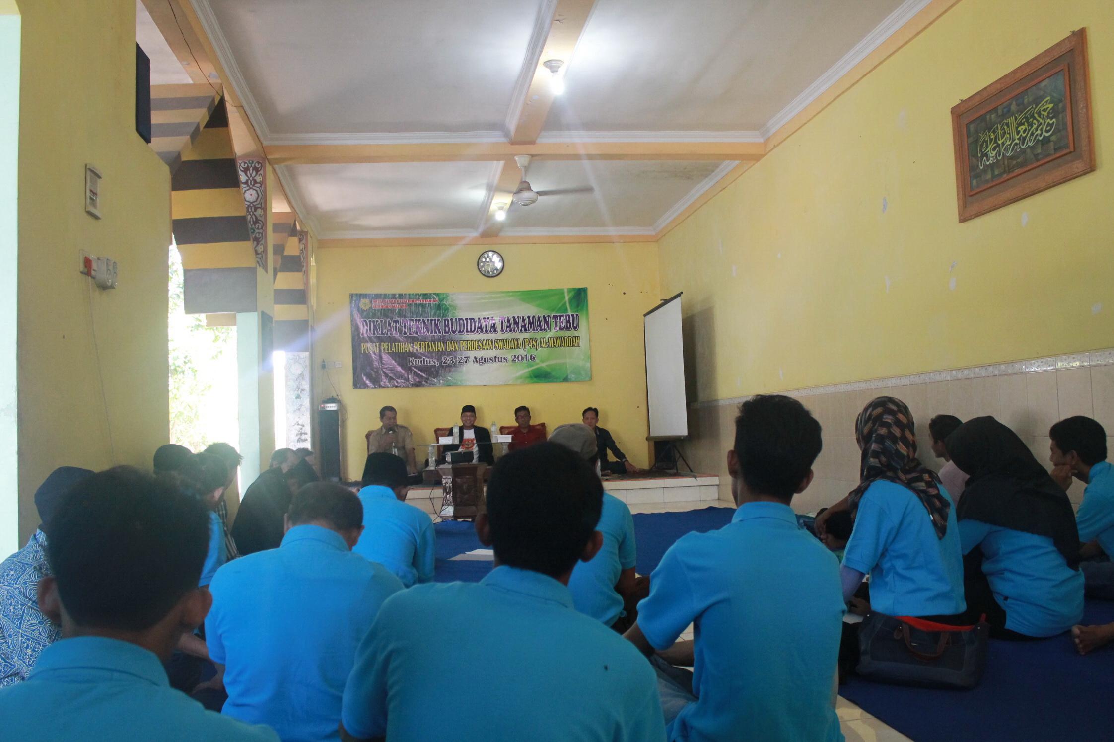 20 Petani Kudus , Ikuti Pelatihan Tanam Tebu di P4S