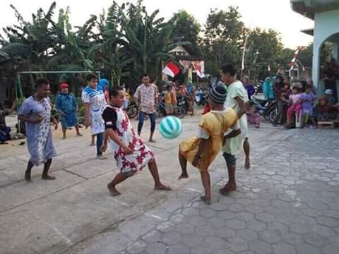 Sepakbola Daster Meriahkan HUT RI ke 71 di Pati