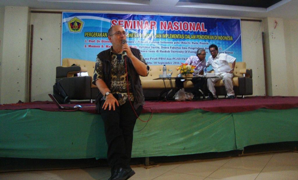 Perlu Paradigma Baru Pembelajaran Sastra Indonesia