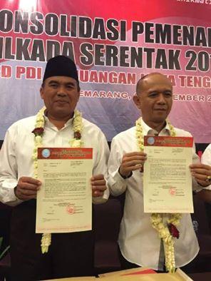 Akhirnya H. Ahmad Marzuki Maju Pilkada Jepara , di Usung  PDIP