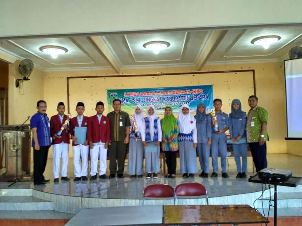 SMK Balekambang Juara 1 Lomba KIR SMK Se-Kabupaten Jepara