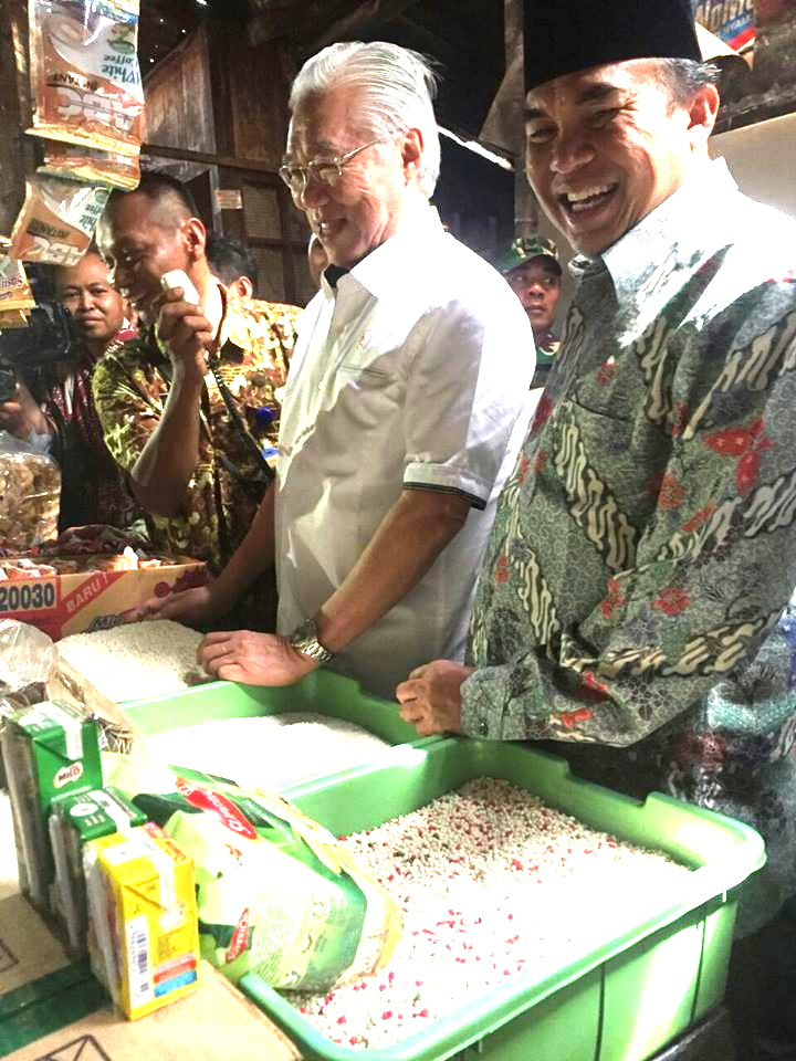 Hari ini Menteri Perdagangan  RI Kunjungi Pasar Pecangaan Jepara