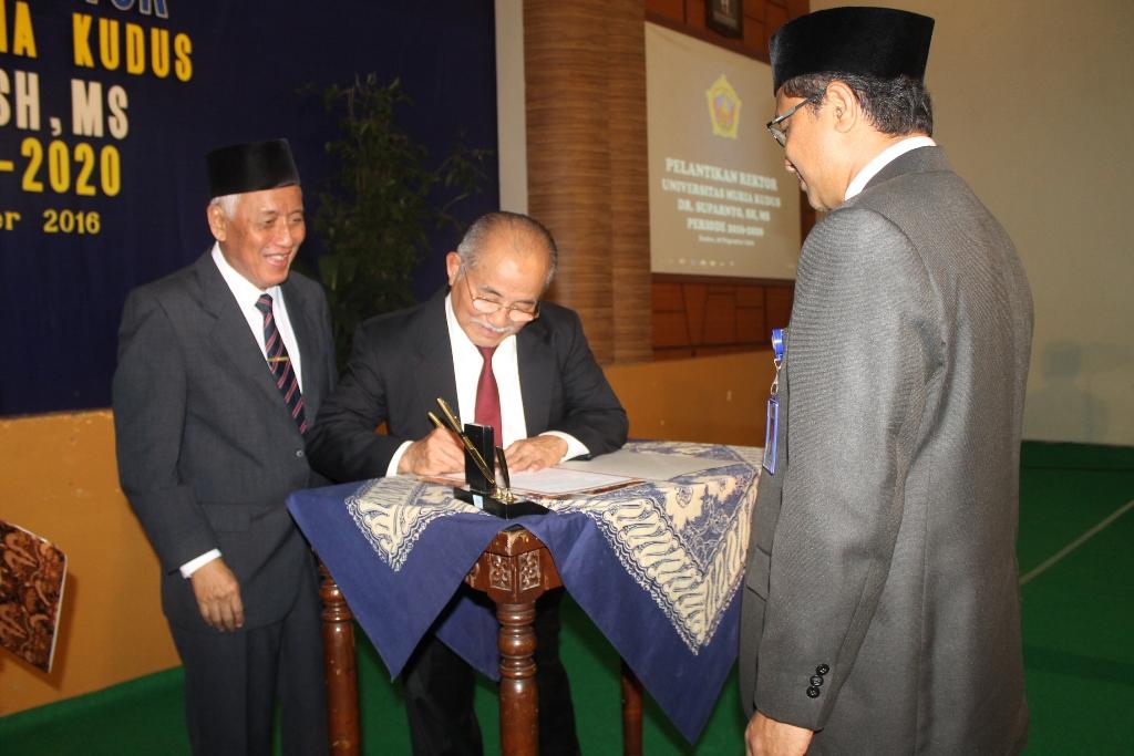 Dr. Suparnyo SH. MS.   Rektor UMK    periode 2016-2020.