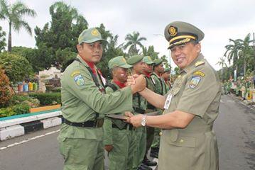 Linmas Ikut Jaga Keamanan dan Ketertiban Wilayah