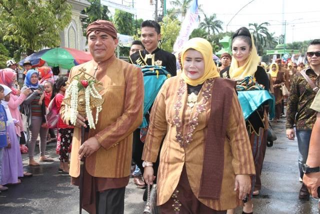 Kirab Pasukan Ratu Kalinyamat , Awali Peringatan HUT Jepara ke 468