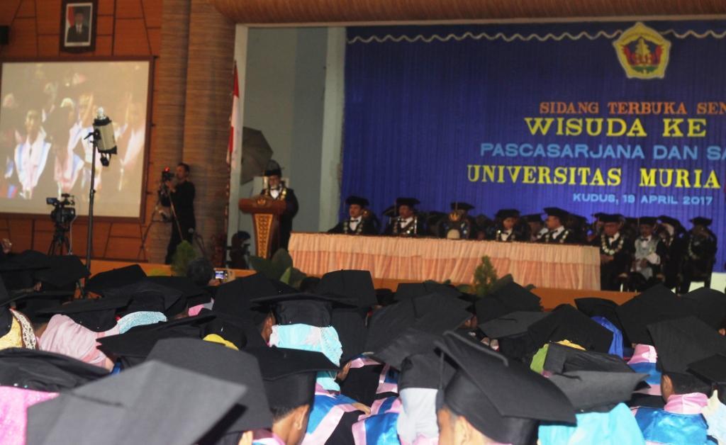UMK Telah Meluluskan 434 Magister, 16.243 Sarjana, dan 1.103 Lulusan Diploma Tiga