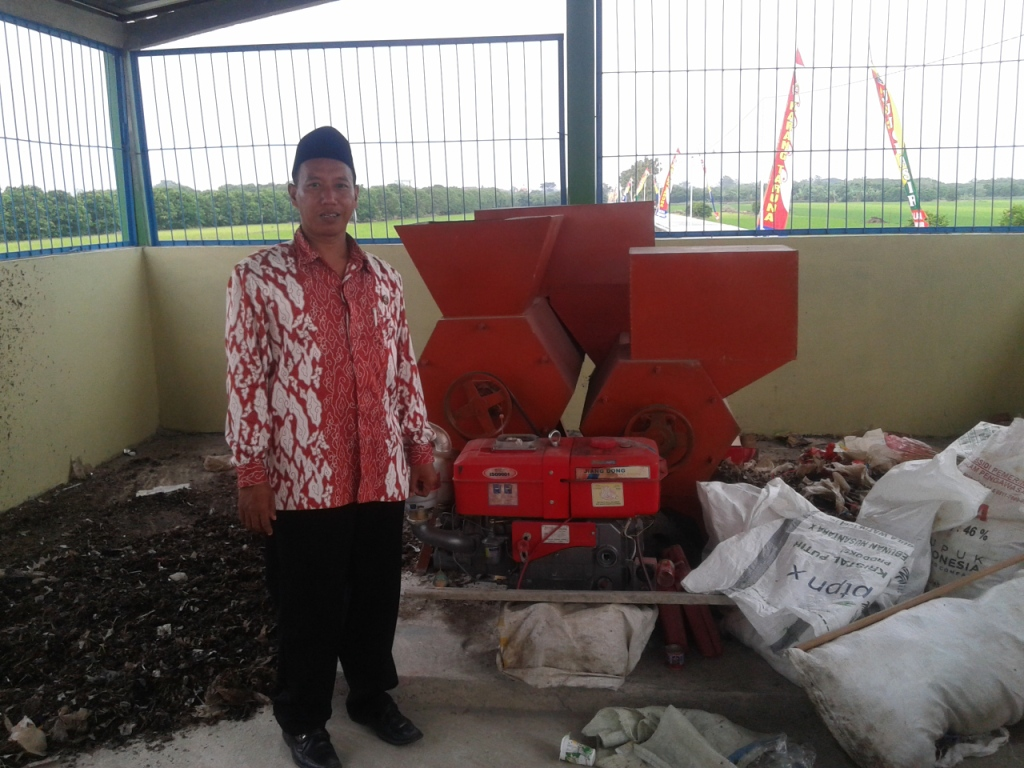 TMMD Sengkuyung Desa Jungpasir , Bangun  Tempat Pengolahan Sampah