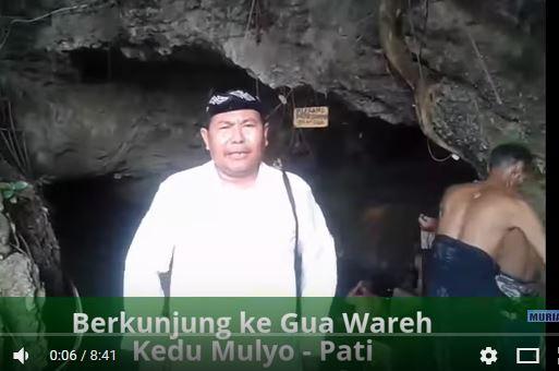 Yuk , Berkunjung ke Gua Wareh di Pati Ada Sungai Di Dalam Gua Lho !!!!