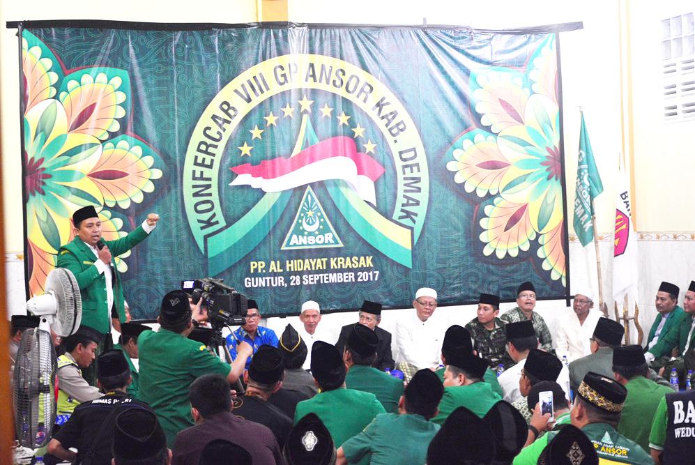 H.Nurul Mutaqien S,Hi,MH  Terpilih Sebagai Ketua PC GP Ansor Demak