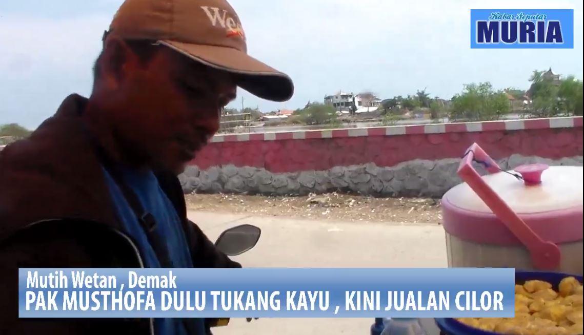 Order Ukir Mebel Sepi, Pak Musthofa Alih Profesi Jualan Ci-Lor